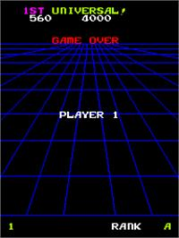 Game Over Screen for Devil Zone.