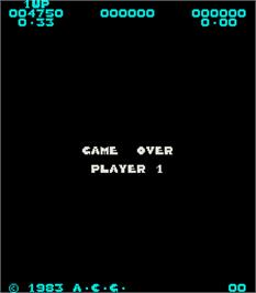 Game Over Screen for Dingo.