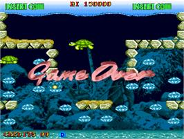 Game Over Screen for Diver Boy.