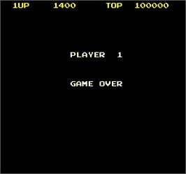 Game Over Screen for Dog-Fight.