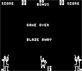 Game Over Screen for Dog Patch.
