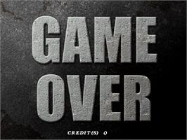 Game Over Screen for Dolphin Blue.