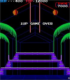 Game Over Screen for Donkey Kong 3.