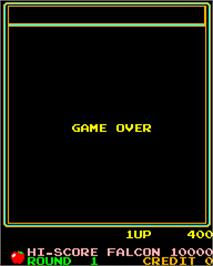 Game Over Screen for Dorodon.