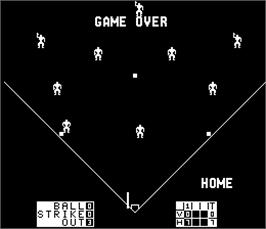 Game Over Screen for Double Play.
