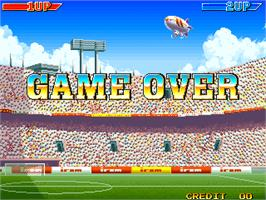 Game Over Screen for Dream Soccer '94.