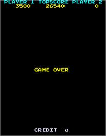 Game Over Screen for Eggor.