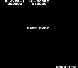 Game Over Screen for Elevator Action.