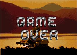 Game Over Screen for Enforce.