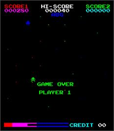 Game Over Screen for Enigma II.