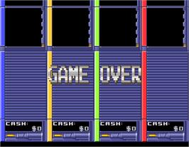 Game Over Screen for Escape Kids.