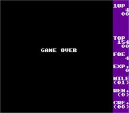 Game Over Screen for Espial.