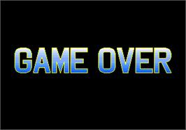 Game Over Screen for Euro Champ '92.