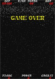 Game Over Screen for Exerizer.