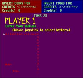 Game Over Screen for Exterminator.