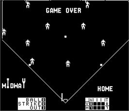 Game Over Screen for Extra Inning.