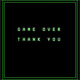 Game Over Screen for FAX.