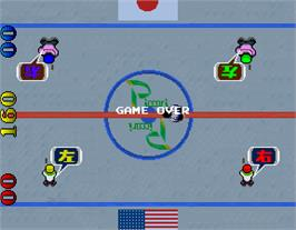 Game Over Screen for Face Off.