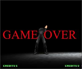 Game Over Screen for Fatal Fury: Wild Ambition.