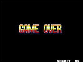 Game Over Screen for Fatal Fury - King of Fighters / Garou Densetsu - shukumei no tatakai.
