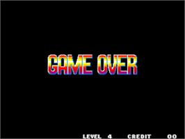 Game Over Screen for Fatal Fury 2 / Garou Densetsu 2 - arata-naru tatakai.
