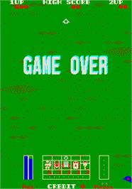 Game Over Screen for Field Combat.