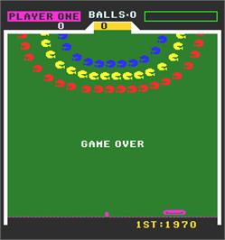 Game Over Screen for Field Goal.