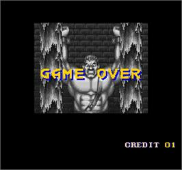 Game Over Screen for Final Fight 2.