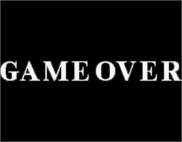 Game Over Screen for Final Lap R.