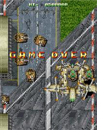Game Over Screen for Fire Barrel.