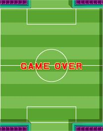 Game Over Screen for Five a Side Soccer.