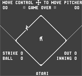 Game Over Screen for Flyball.