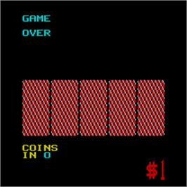 Game Over Screen for Fortune I.