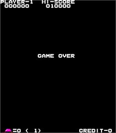Game Over Screen for Front Line.