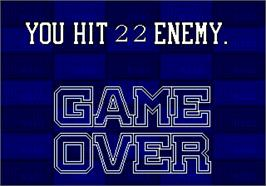 Game Over Screen for G-LOC R360.