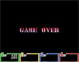 Game Over Screen for G.I. Joe.