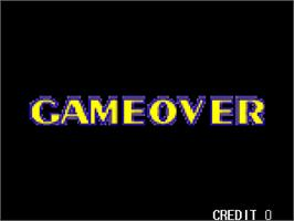Game Over Screen for Gallop Racer.