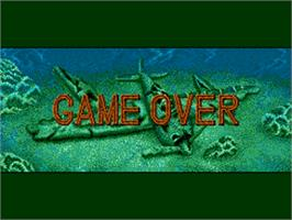 Game Over Screen for Ghost Pilots.