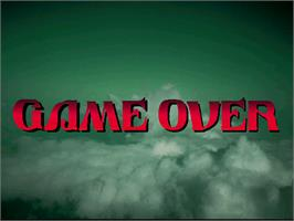 Game Over Screen for Giga Wing 2.
