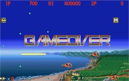 Game Over Screen for Gigandes.