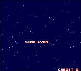 Game Over Screen for Ginga NinkyouDen.