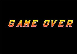 Game Over Screen for Global Champion.