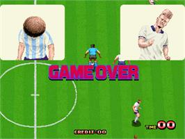 Game Over Screen for Goal! '92.
