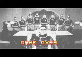 Game Over Screen for Godzilla.
