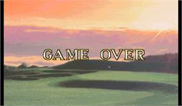 Game Over Screen for Golfing Greats 2.