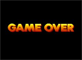 Game Over Screen for Grand Striker 2.