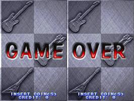 Game Over Screen for Guitar Freaks.