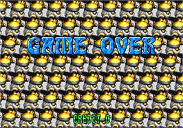 Game Over Screen for Gun Master.