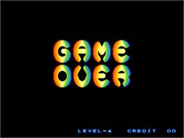 Game Over Screen for Gururin.
