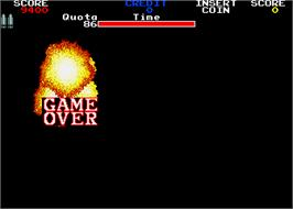 Game Over Screen for Guts n' Glory.